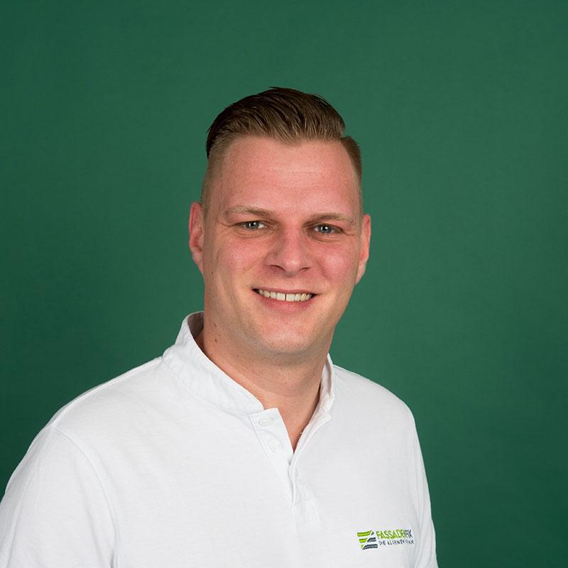 Daniel Janowicz, Teamleiter bei FassadenFix