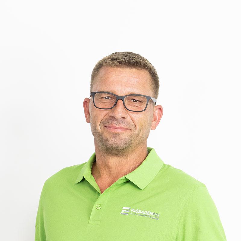 Experte für Steinreinigung, Matthias Breier