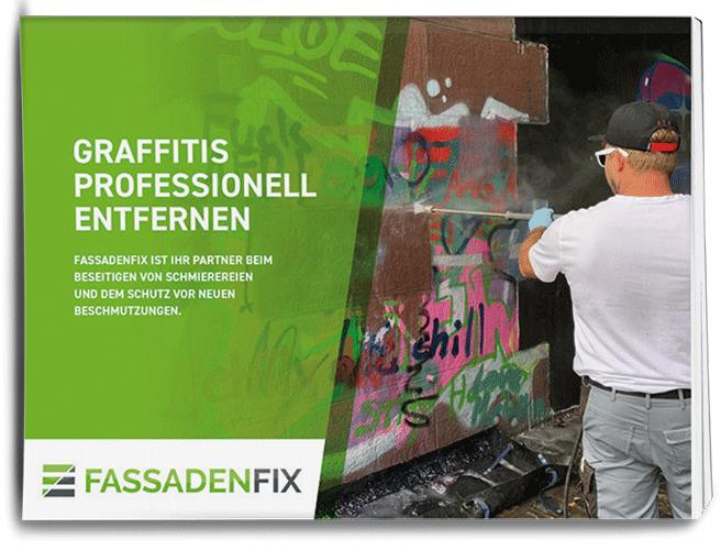 Broschüre zu Graffitientfernung